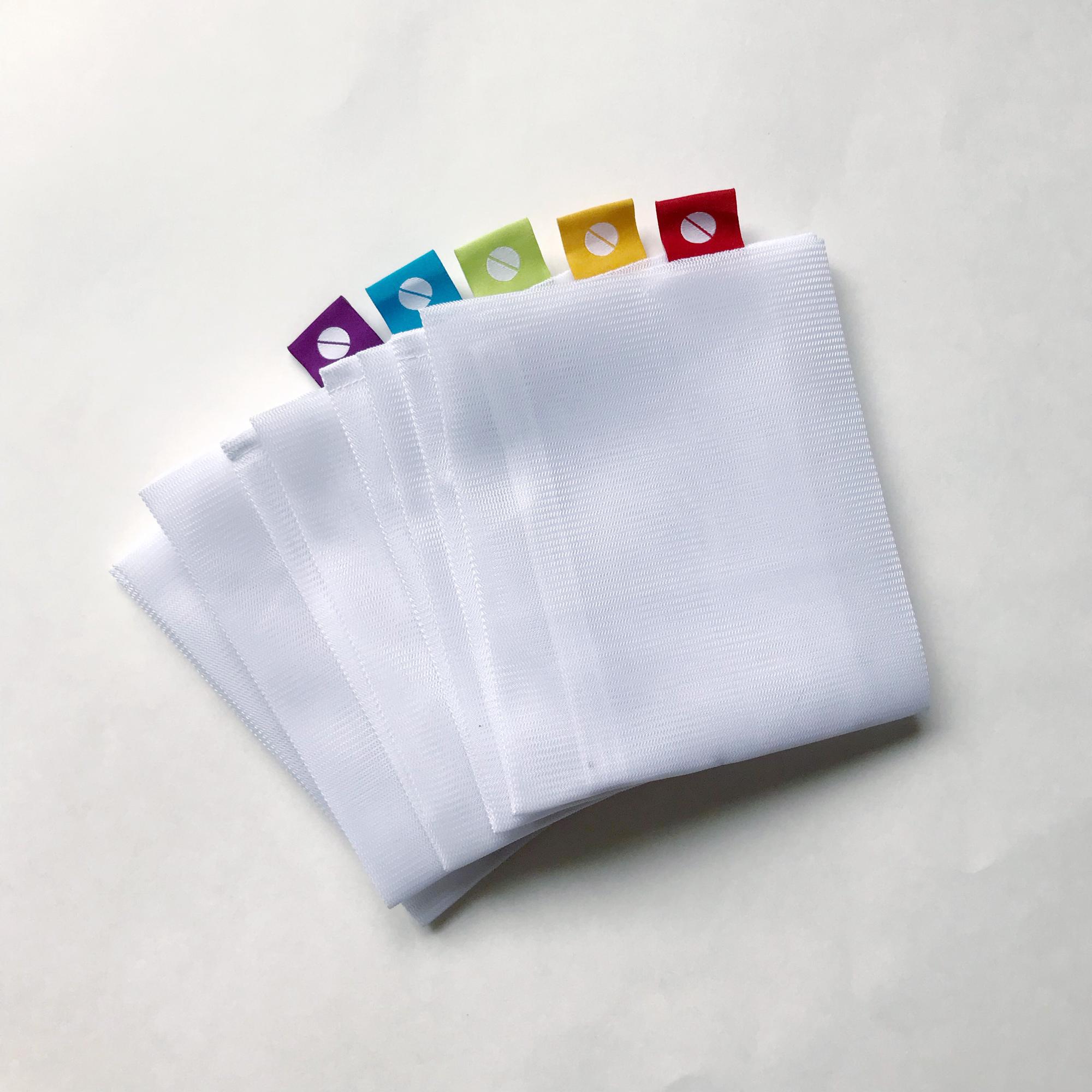 MightyFix Flip & Tumble reusable produce bags — Cotton Cashmere Cat Hair