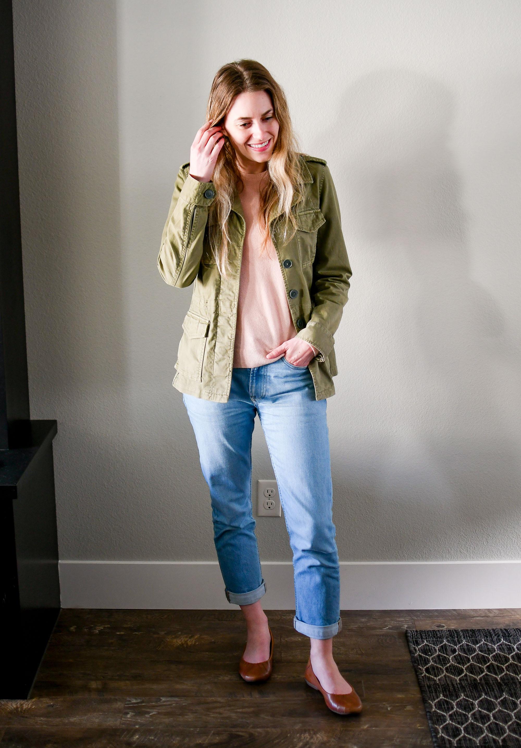 April Style Sudoku: Outfit 1 — Cotton Cashmere Cat Hair