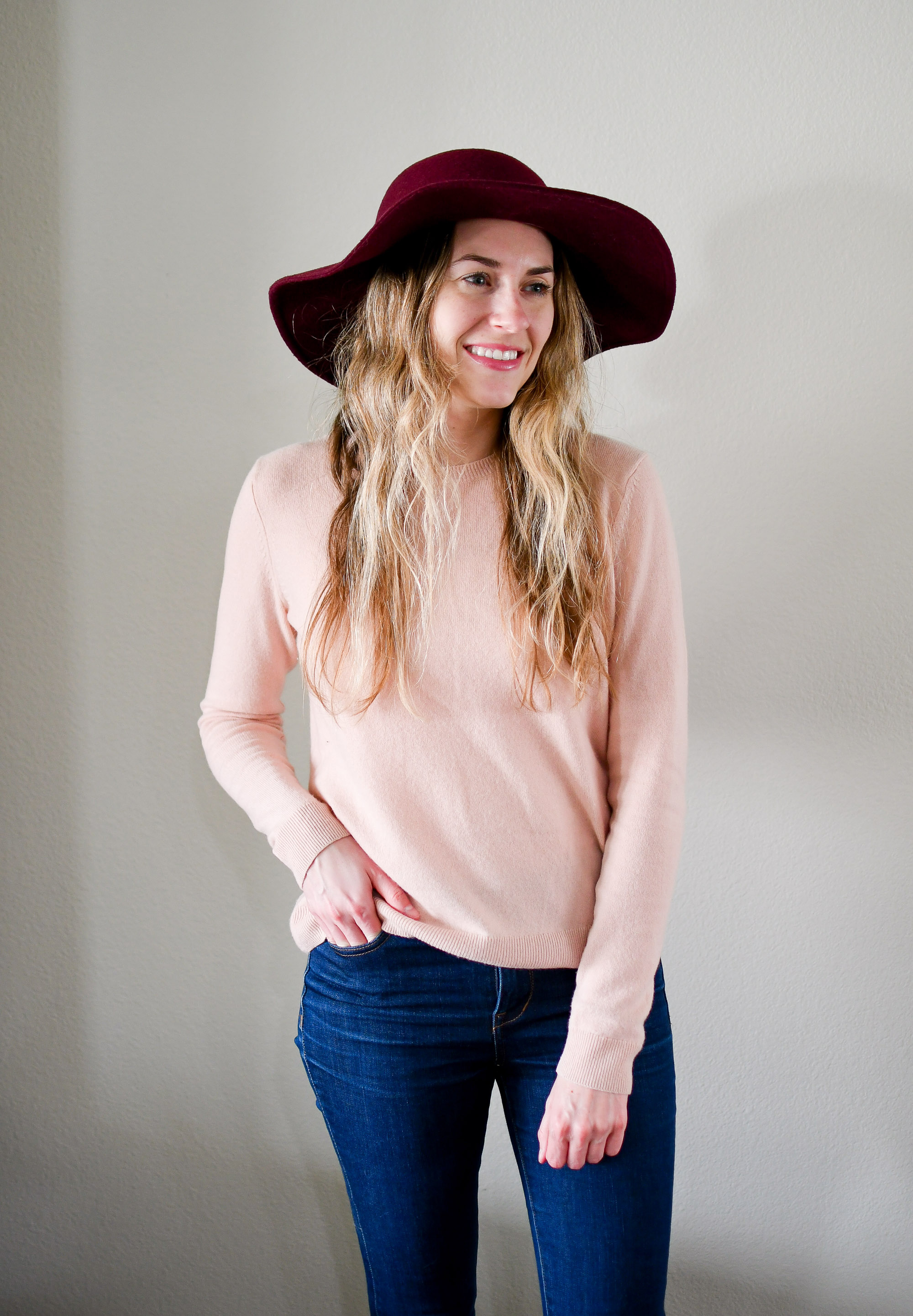 Nordstrom Anniversary Sale: Leith floppy felt hat — Cotton Cashmere Cat Hair