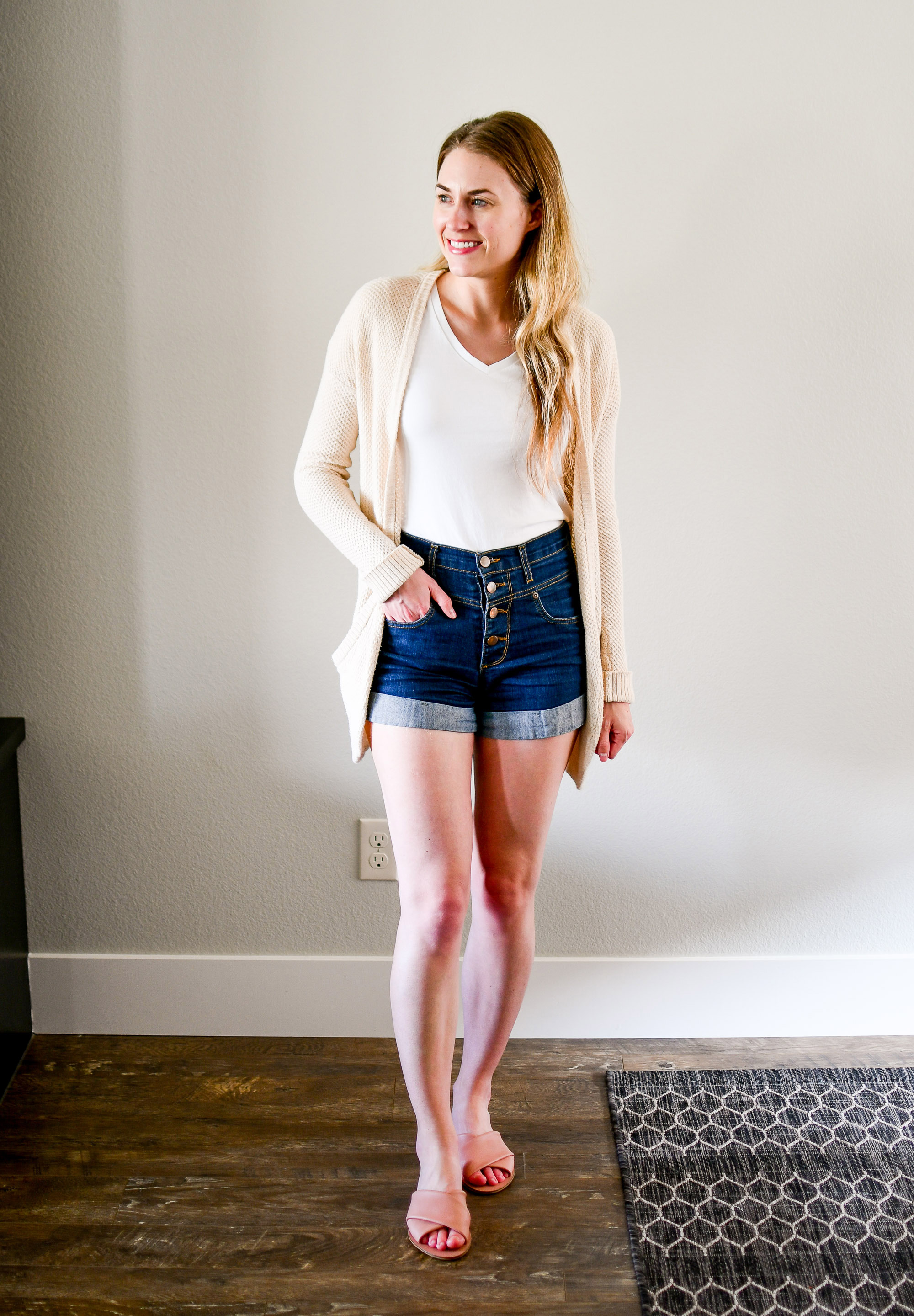 July Style Sudoku: Outfit 7 — Cotton Cashmere Cat Hair