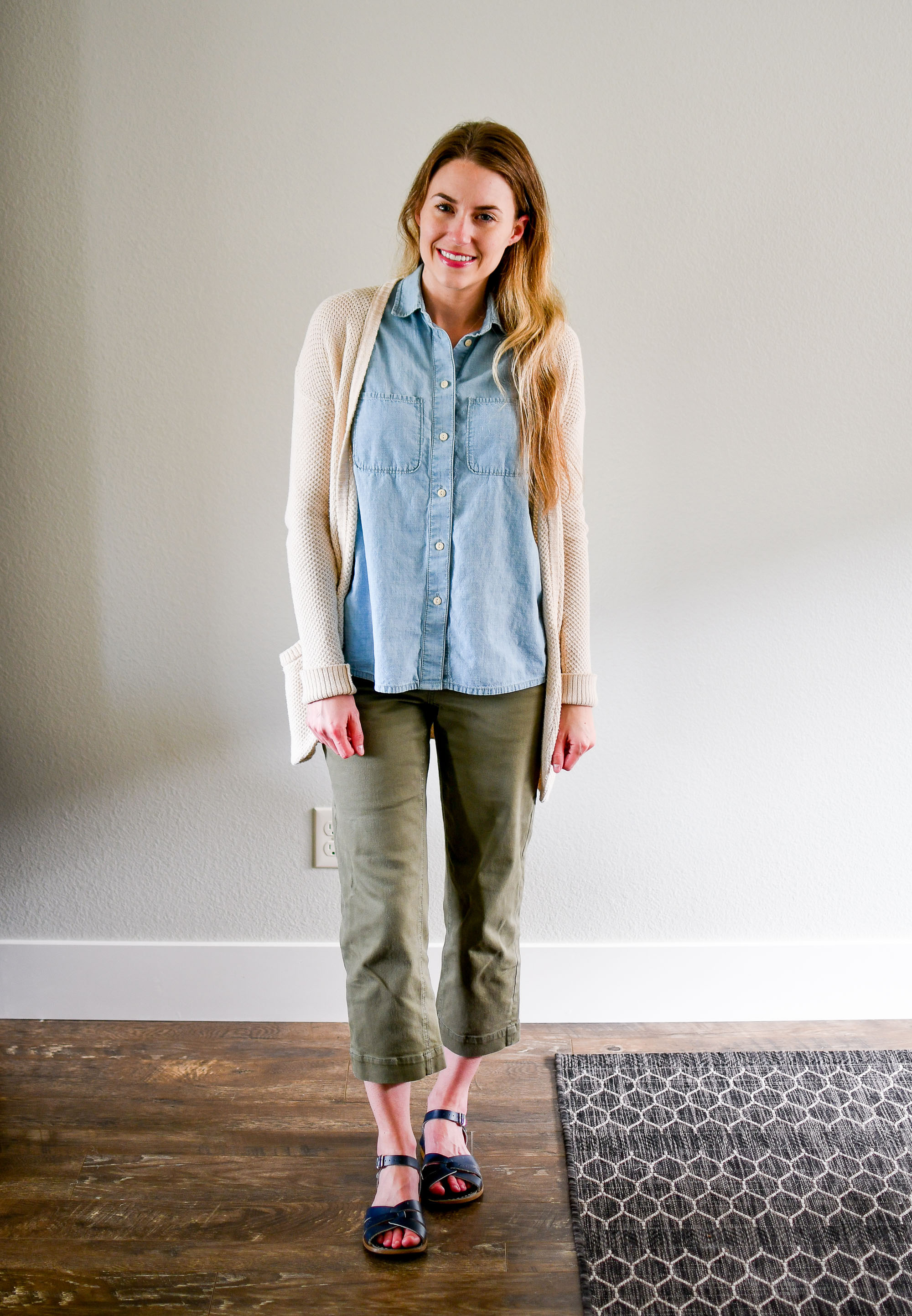 July Style Sudoku: row 4 outfit — Cotton Cashmere Cat Hair