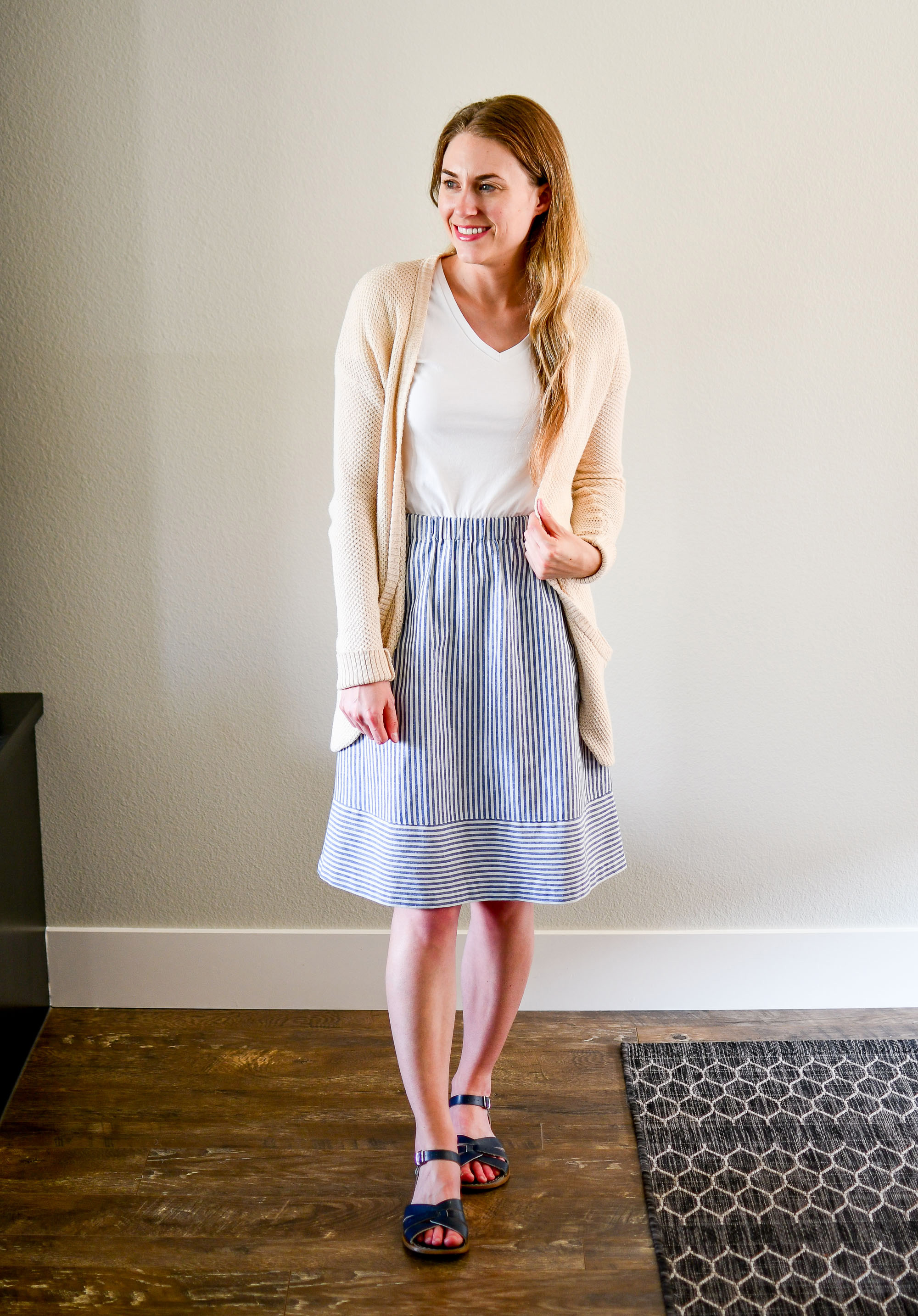 July Style Sudoku: corner 3 outfit — Cotton Cashmere Cat Hair