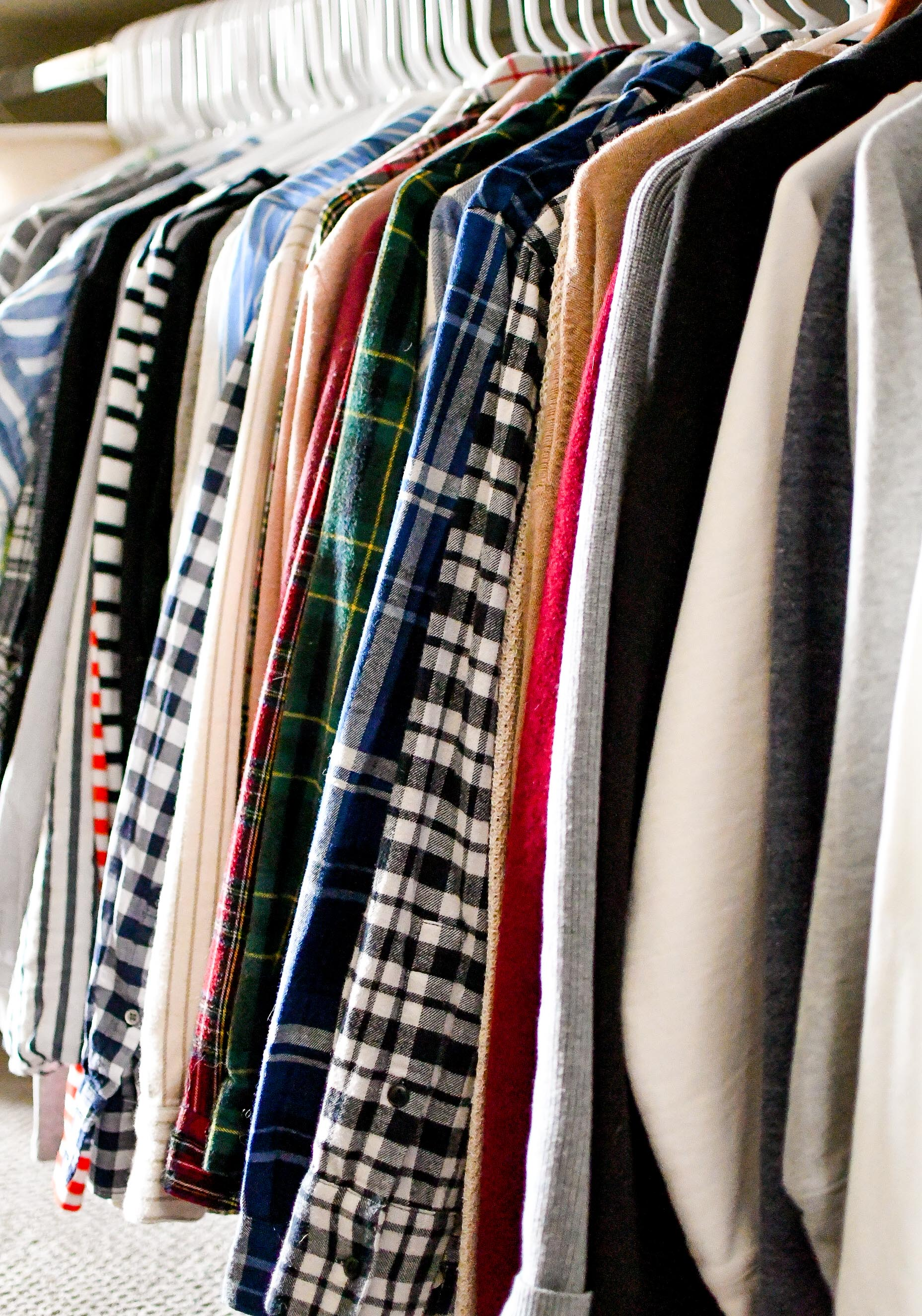 2019 closet inventory: tops, shirts, cardigans, sweatshirts — Cotton Cashmere Cat Hair