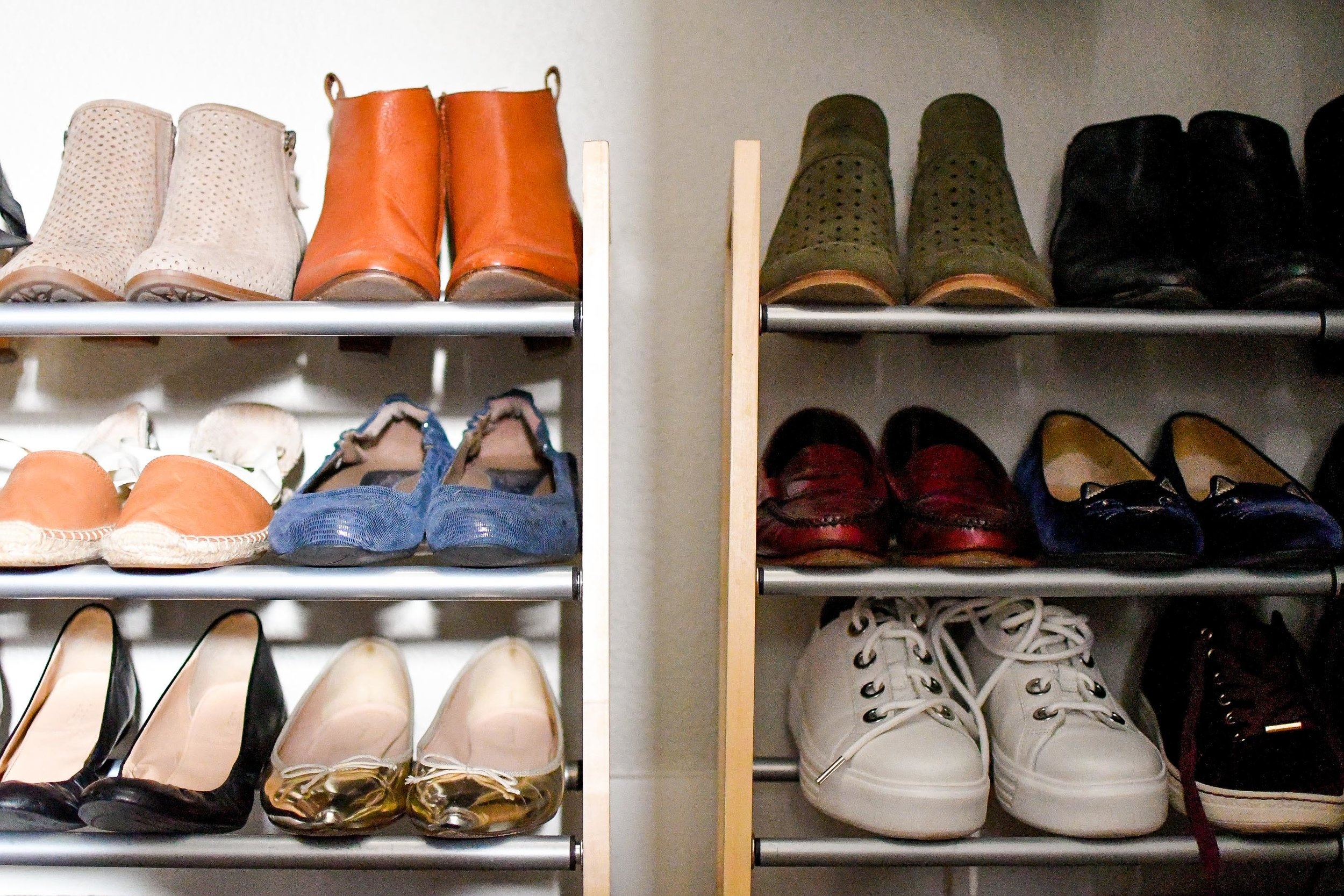 2019 closet inventory: shoe storage — Cotton Cashmere Cat Hair