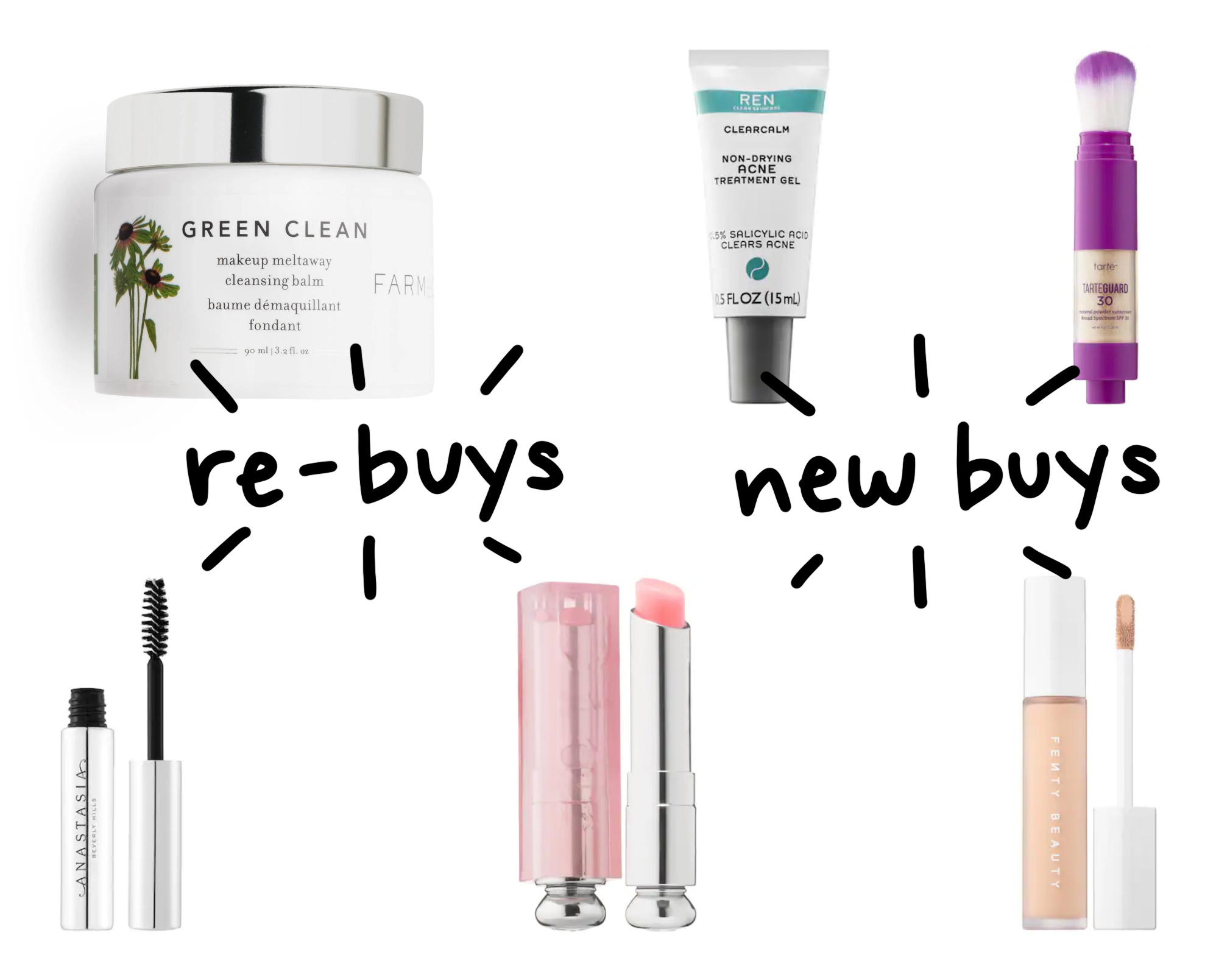 Recent beauty re-buys and new buys from Sephora — Cotton Cashmere Cat Hair