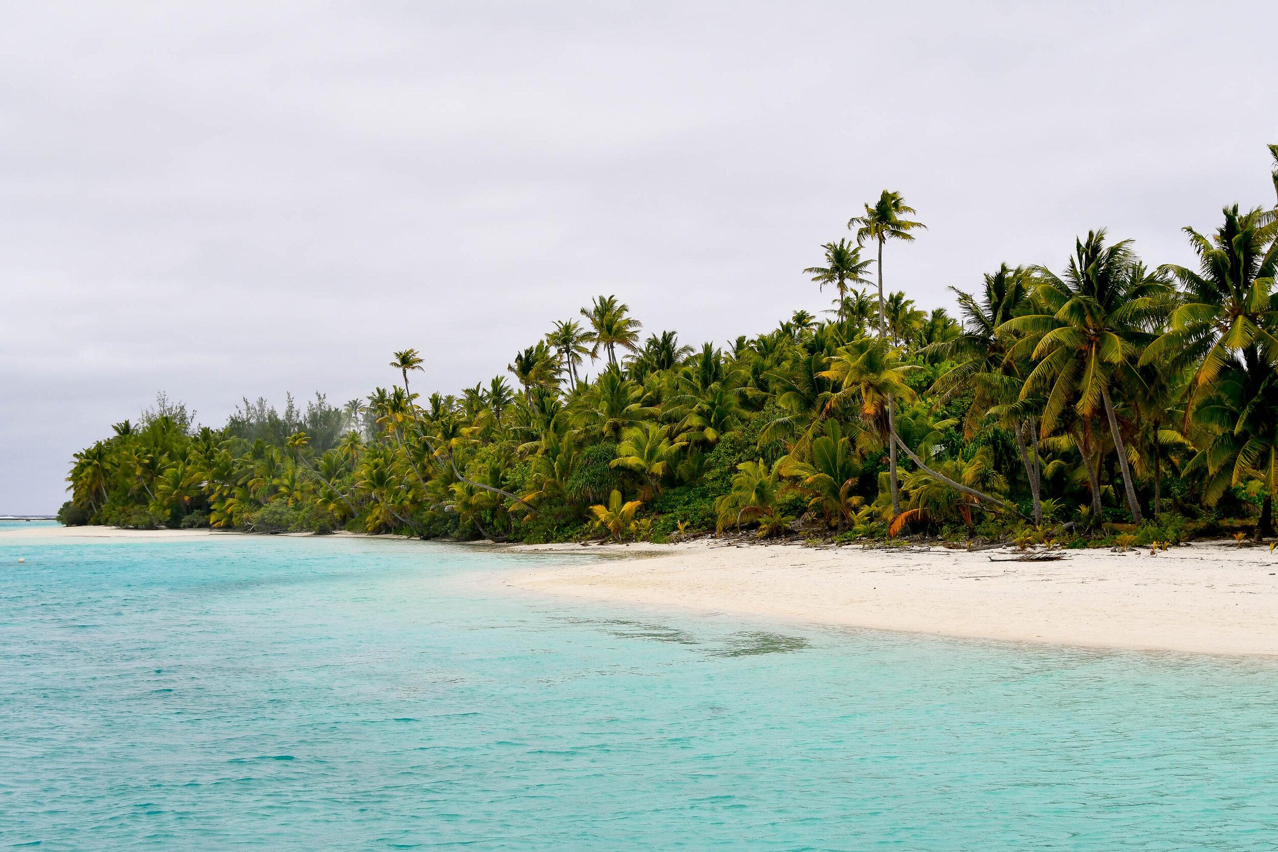 One Foot Island, Aitutaki, Cook Islands — Cotton Cashmere Cat Hair