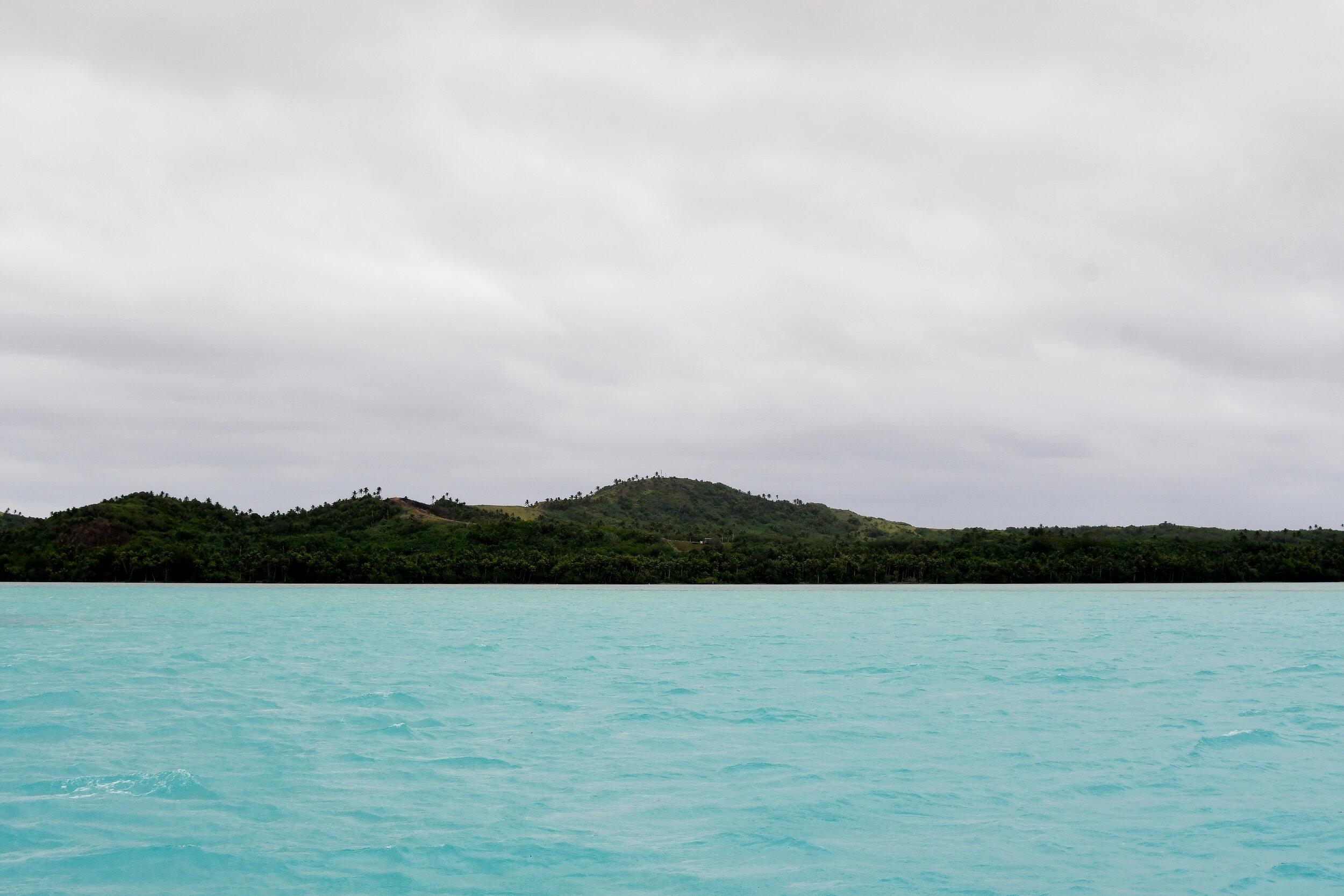 Main island of Aitutaki, Cook Islands — Cotton Cashmere Cat Hair