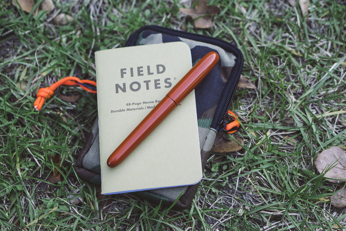 "That Field Notes Shenandoah ""Red Maple"" book looks like it was made for the Sinclair, no?"