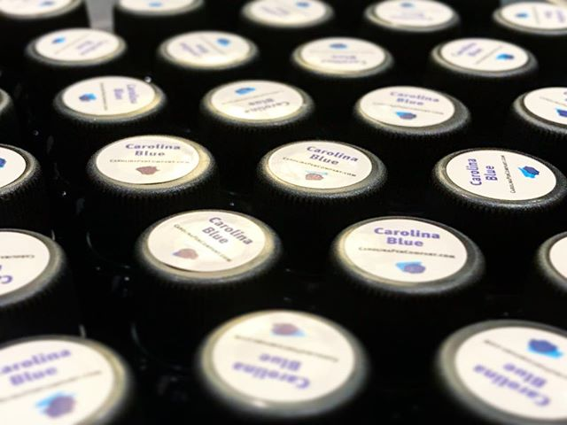Come find me at the Carolina Pen Co. booth at the Atlanta Pen Show and grab a bottle of this gorgeous Carolina Blue ink from @robertostersignature! #atlantapenshow2019 #atlantapenshow #penaddict #pens #pen #ink #paper #atlanta #robertosterink