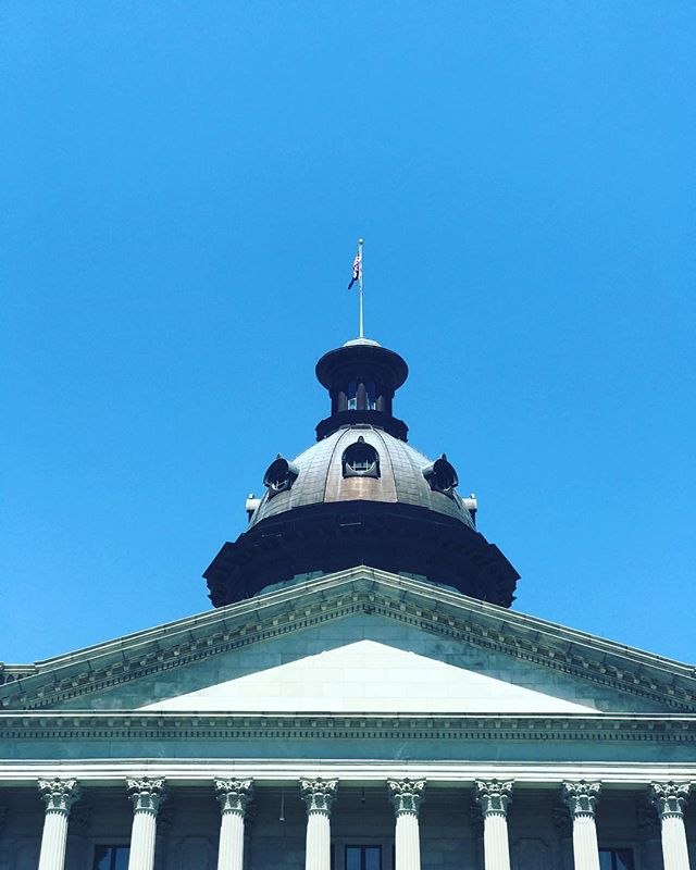 If these domes and walls and stairs could talk... #sc #southcarolina #discoversc #columbiasc