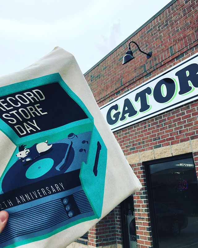 Hey Sumterites! It's #recordstoreday and Music Gator in Sumter is delivering the goods! Stop by and see them. #recordstoreday2019 #vinyl #music #newmusic #sumtersc #sc 🐊