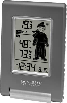 Click on the image to go to La Crosse's Website for more product information.