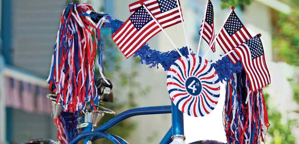 Martha Stewart.com gave me the inspiration to start a bike parade. This image is from that blog posting.