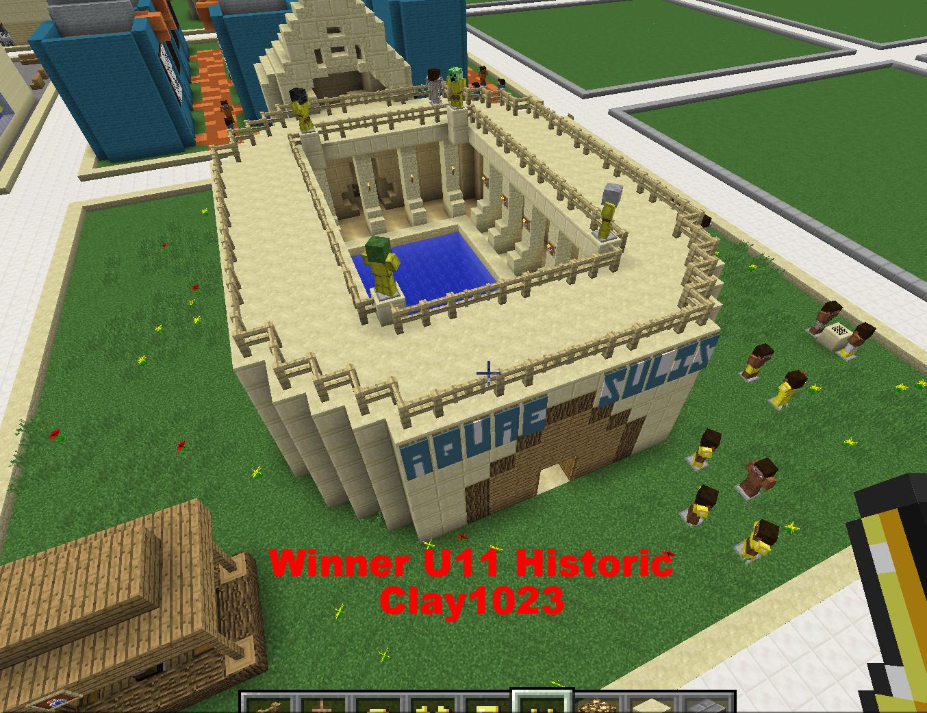 Winner U11 Historic - Clay1023