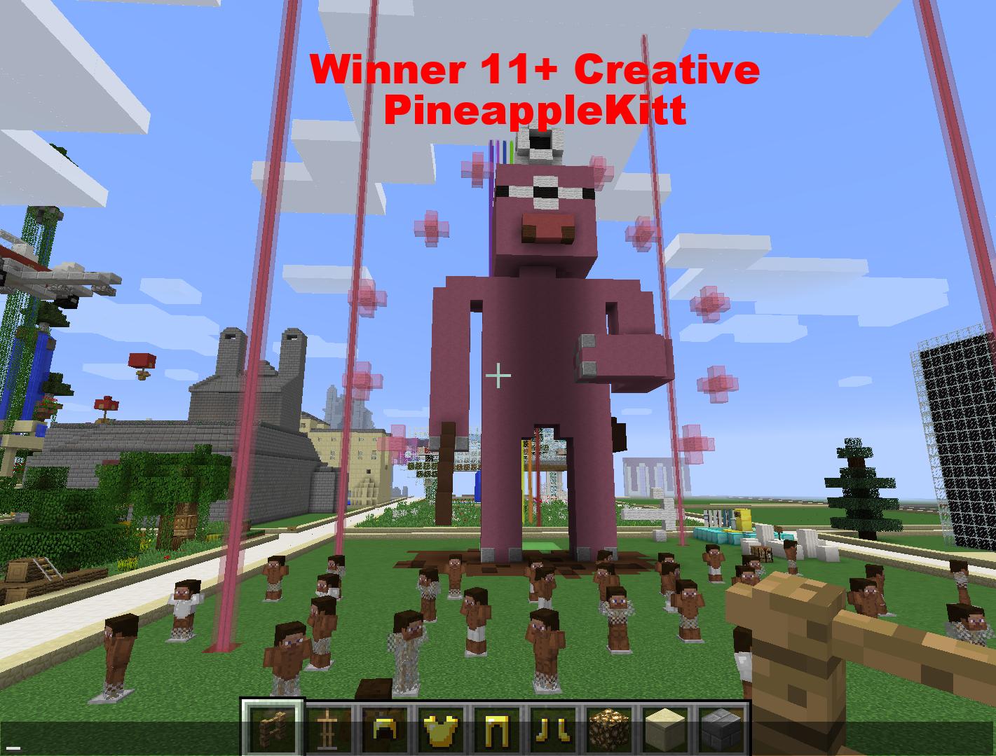 Winner 11+ Creative - PineappleKitt