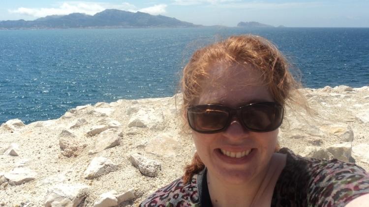 On an island off the coast of Marseille, France.