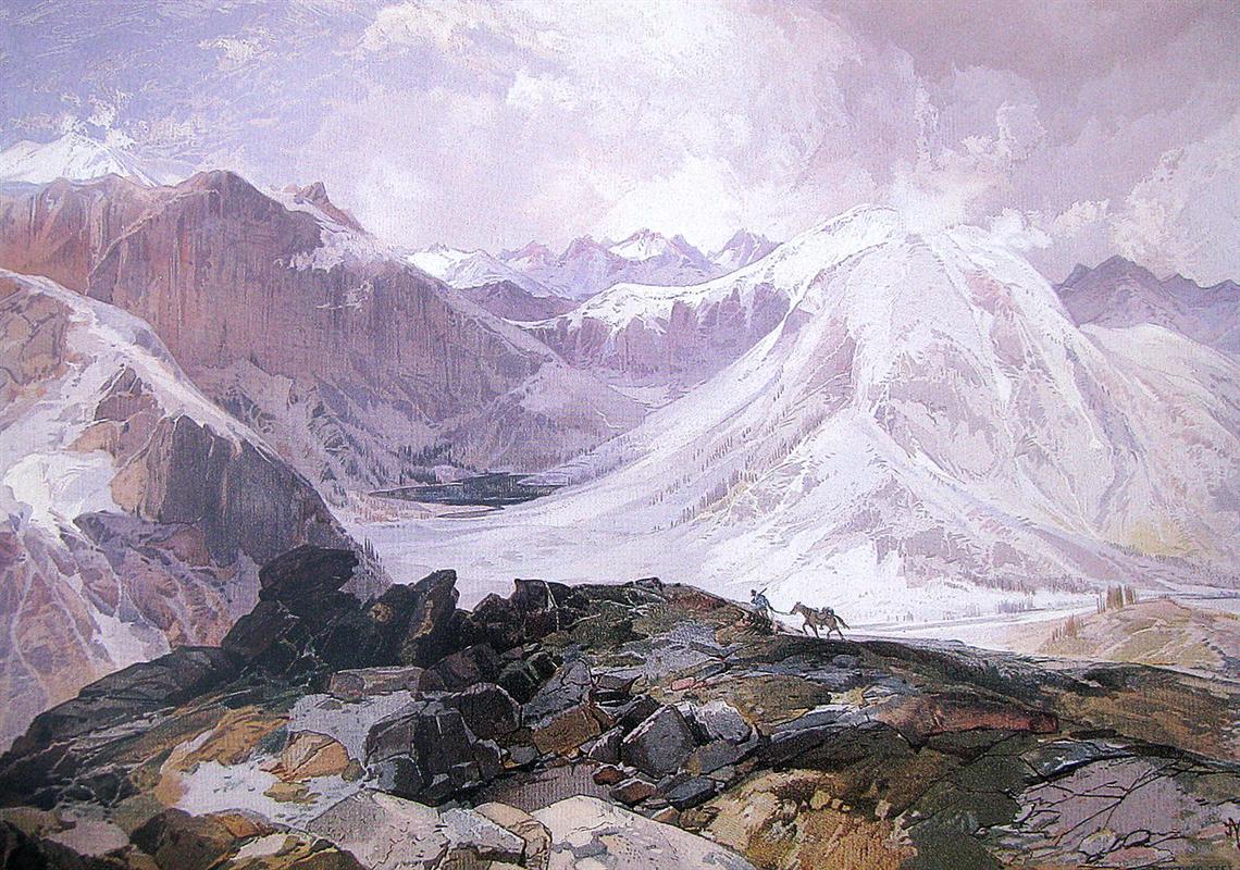Thomas Moran, The Mosquito Trail, Rocky Mountains of Colorado, 1875, University of Arizona Museum of Art, Tucson.