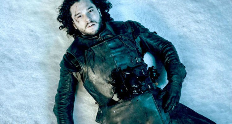 HBO/ Dead Jon Snow, from Season 5.