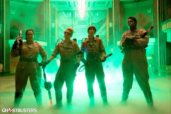 Image from the   Ghostbusters  website .