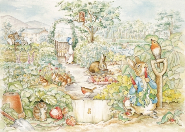The World of Peter Rabbit, as drawn by Beatrix Potter.
