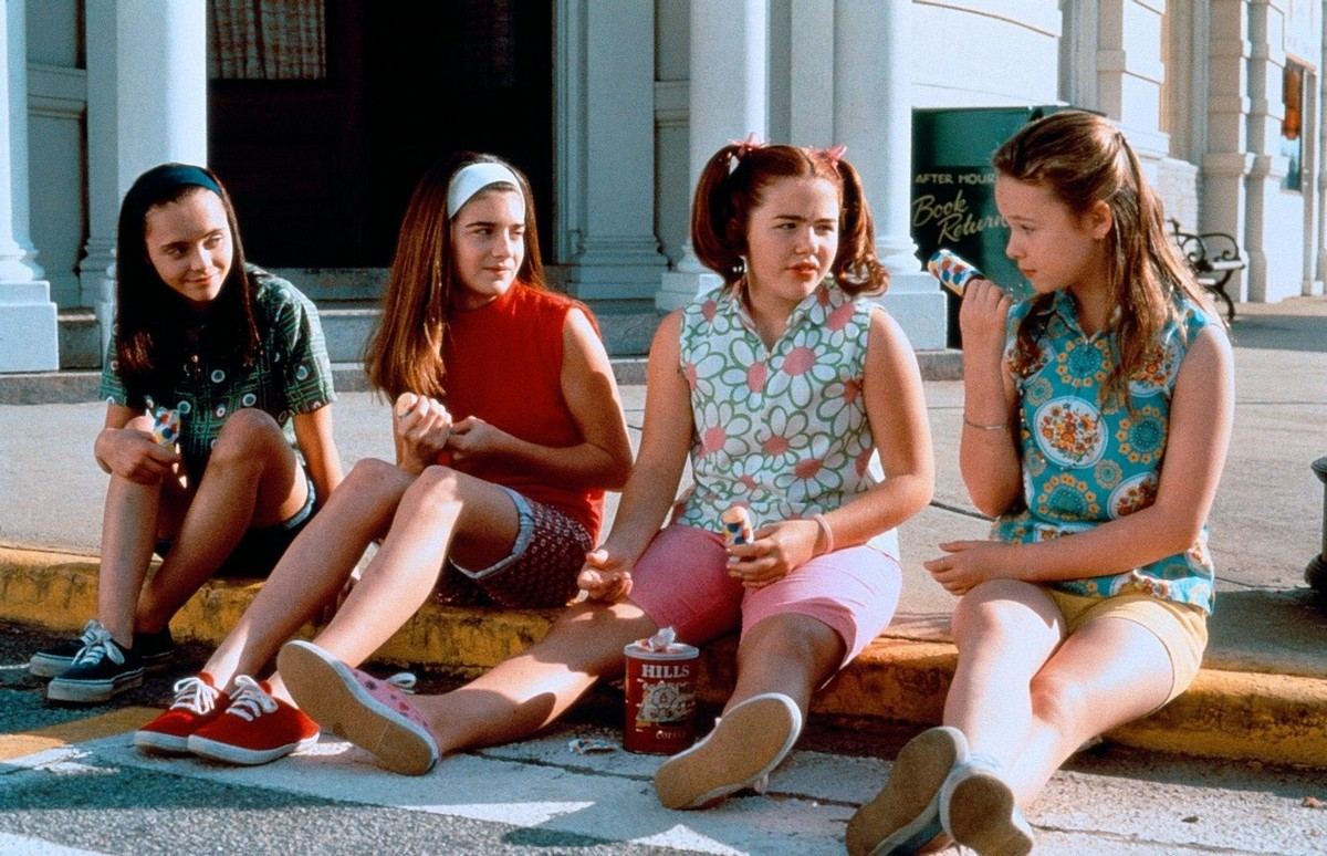 Roberta, Samantha, Chrissy, and Teeny from  Now and Then  (1995)
