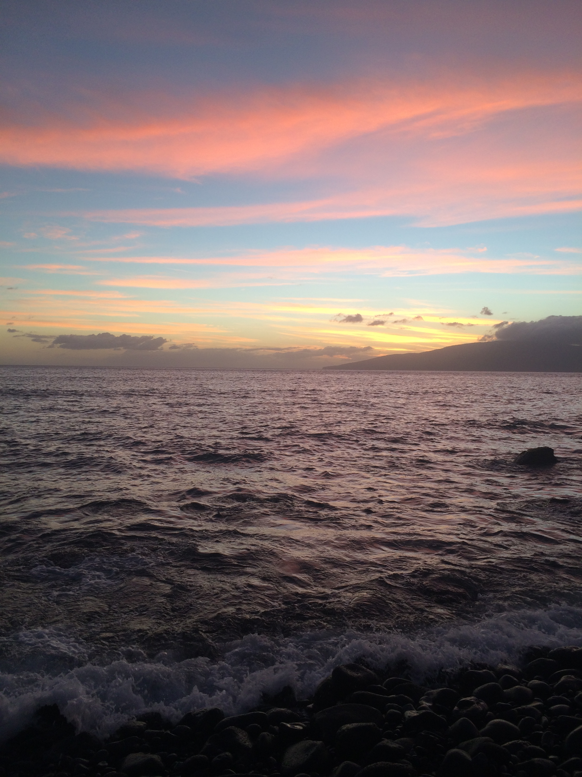 Hawaiian sunsets are unreal!