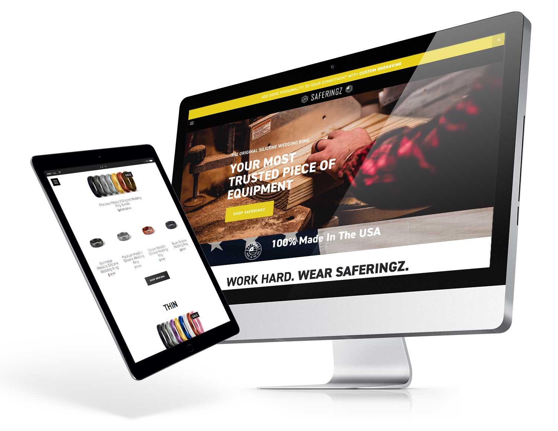 saferingz.com    eCommerce site