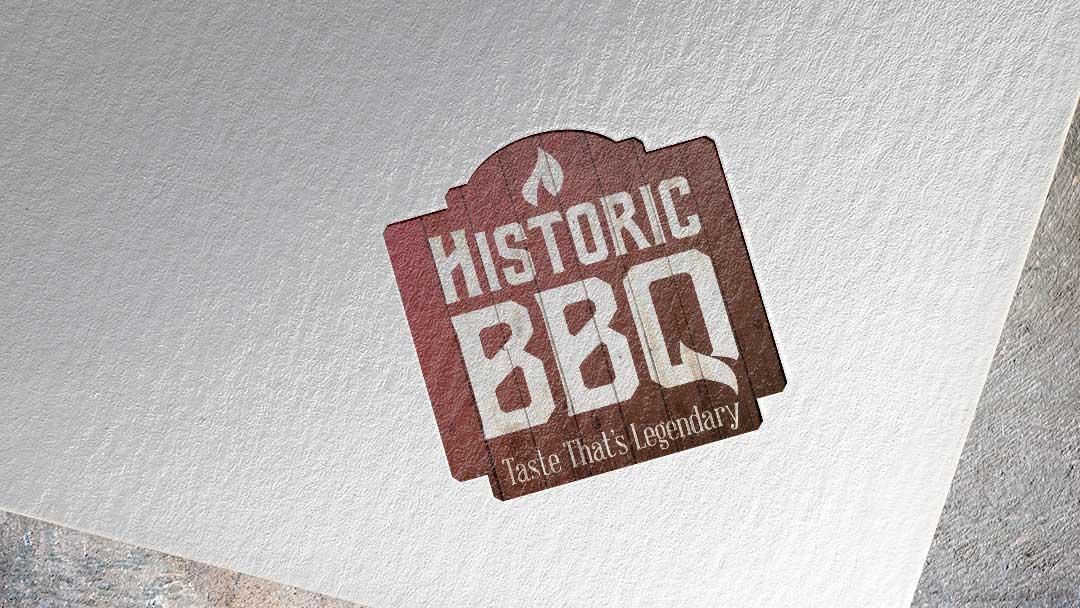 Historic BBQ  identity