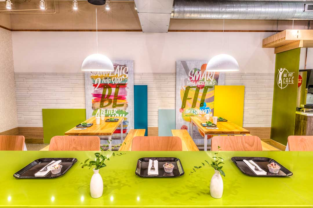 Be Fit Cafe| misc environments