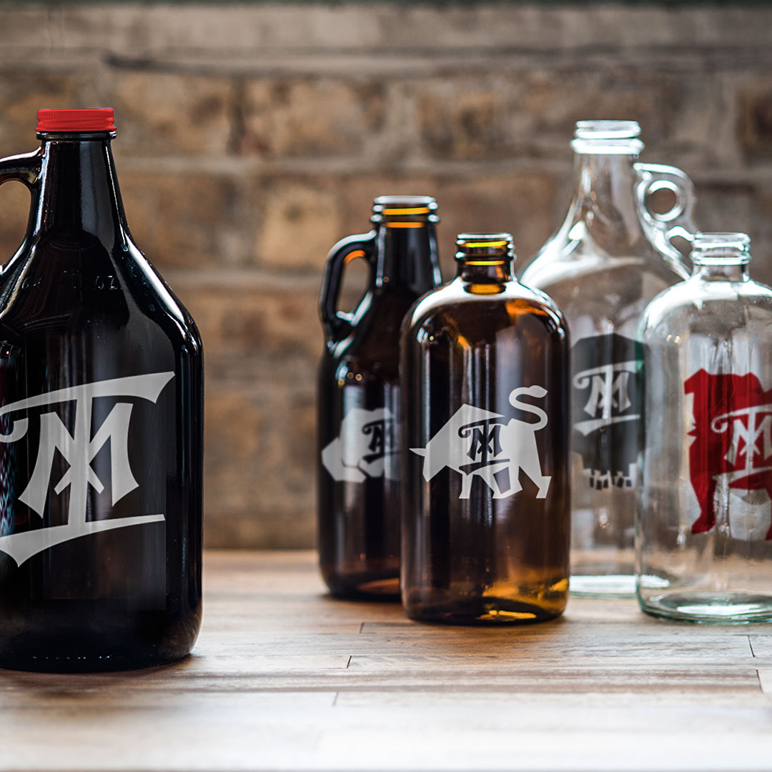Logo growlers