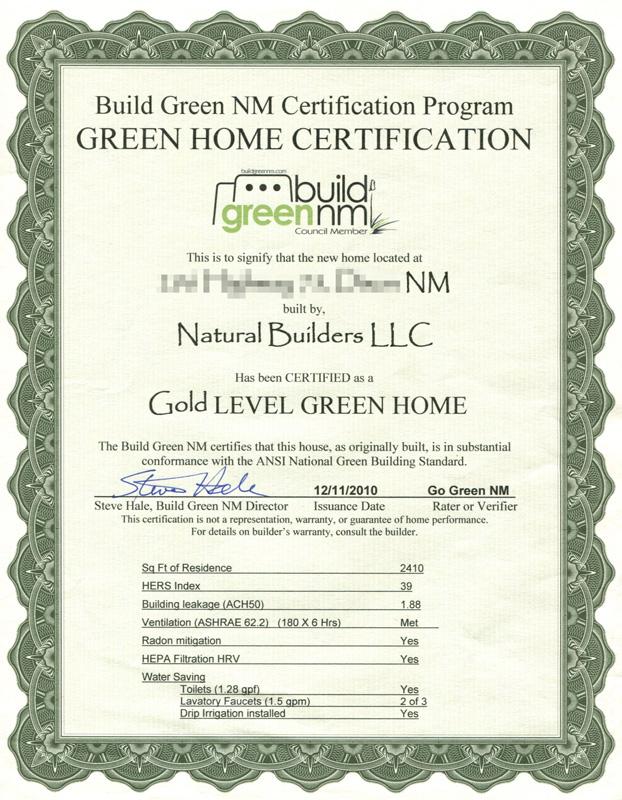 BGNM Gold Certification