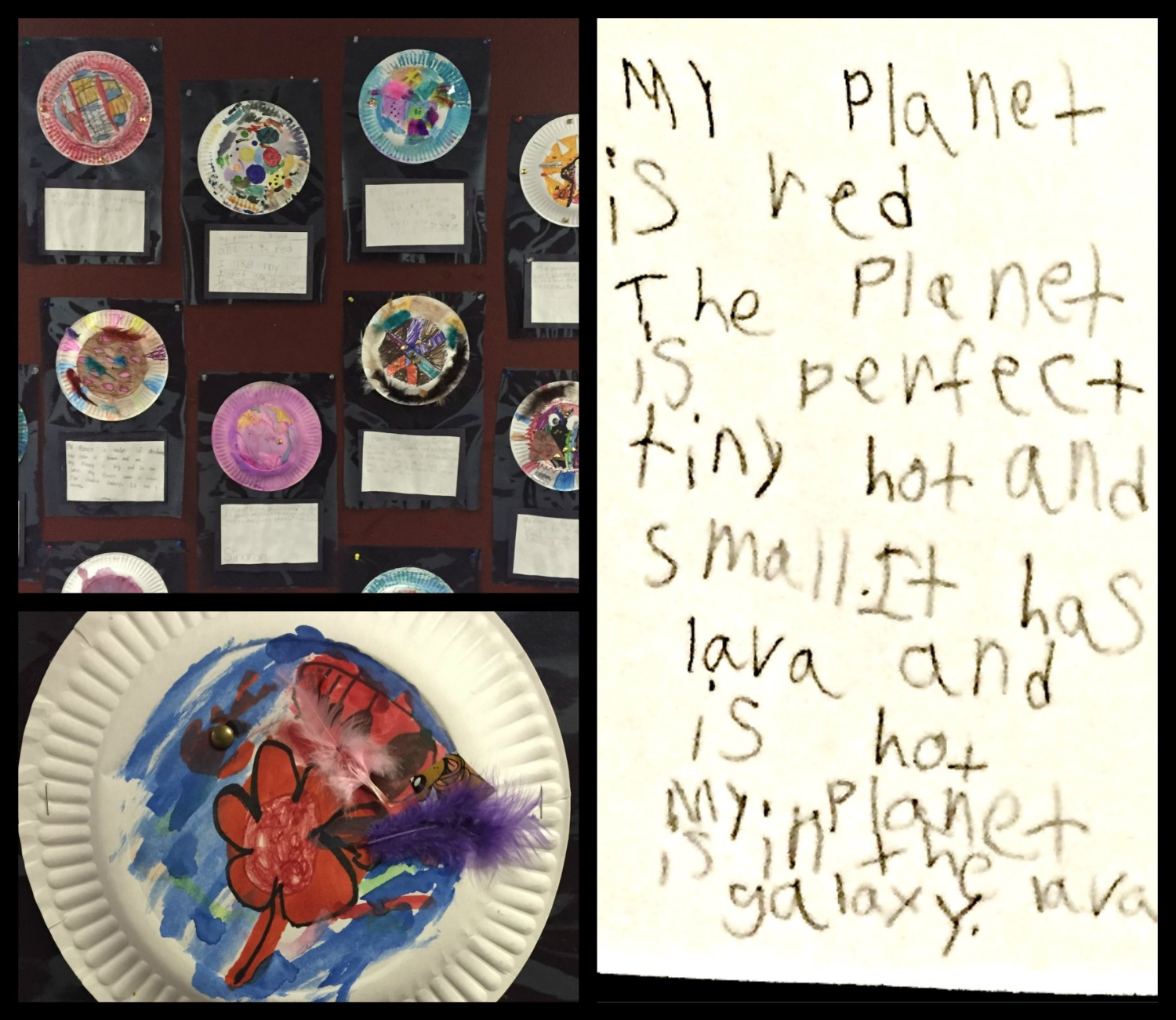 My Planet Project, K-1st grade, Clara's project featured (October 2015)