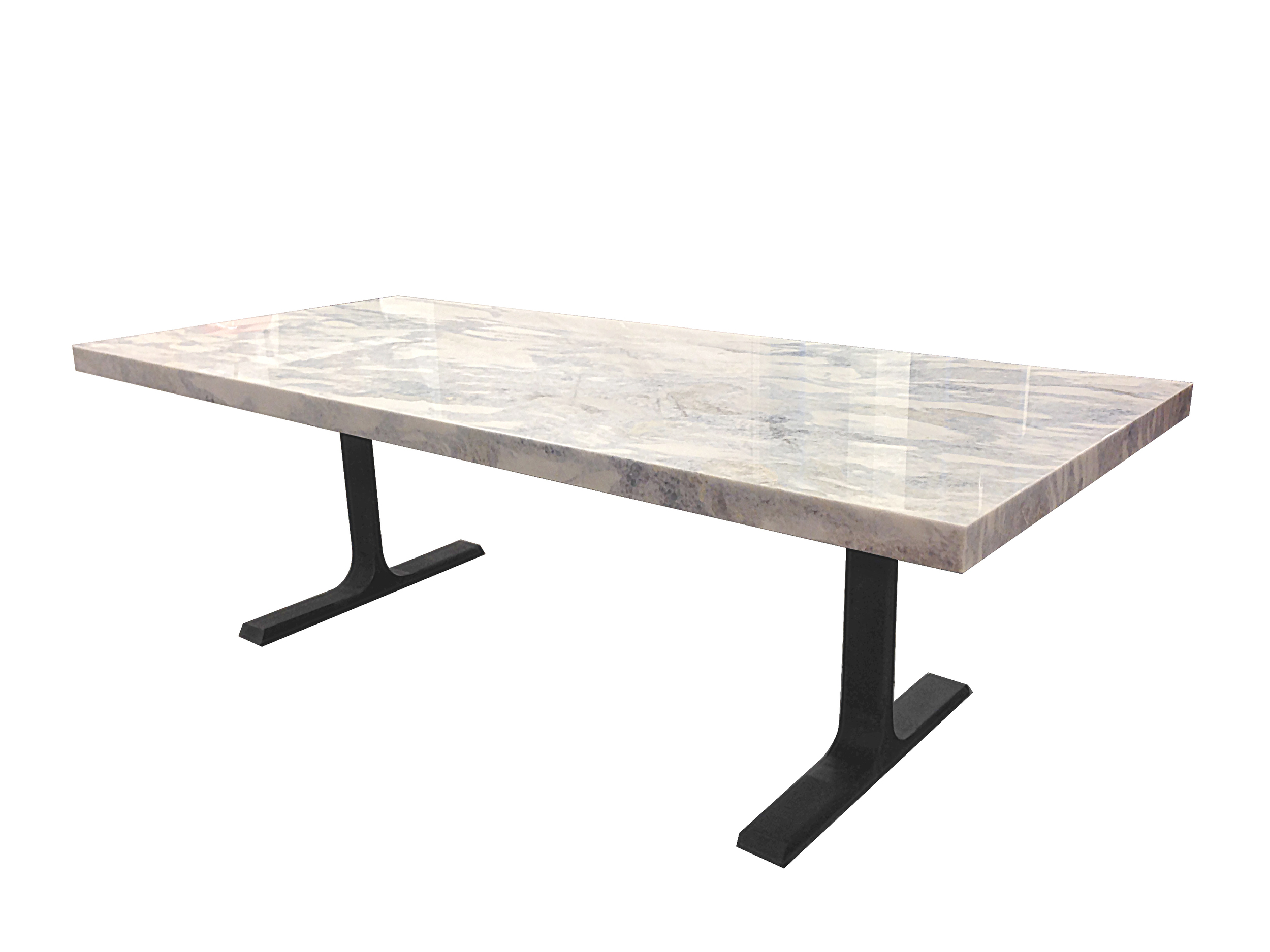 1 Marble and Steel Dining Table.jpg