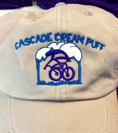 Cream Puff Custom embroidery