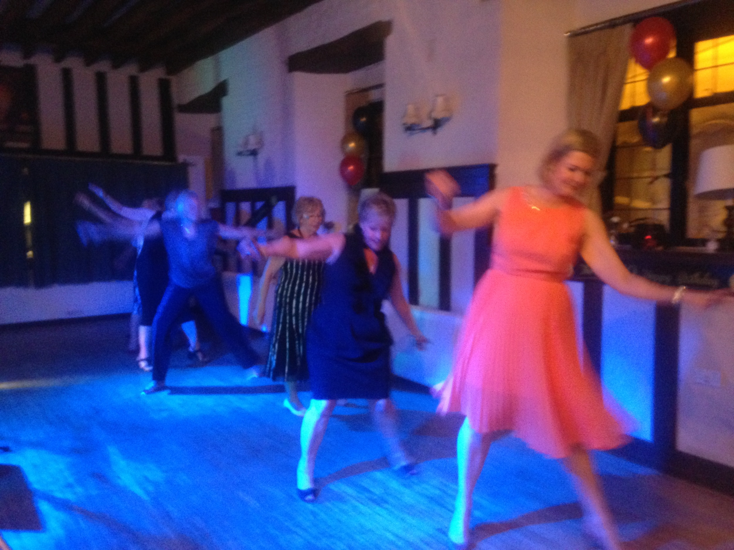 Line Dancing Ladies, to Blurred Lines @ Rochford Hundred Golf Club, Essex