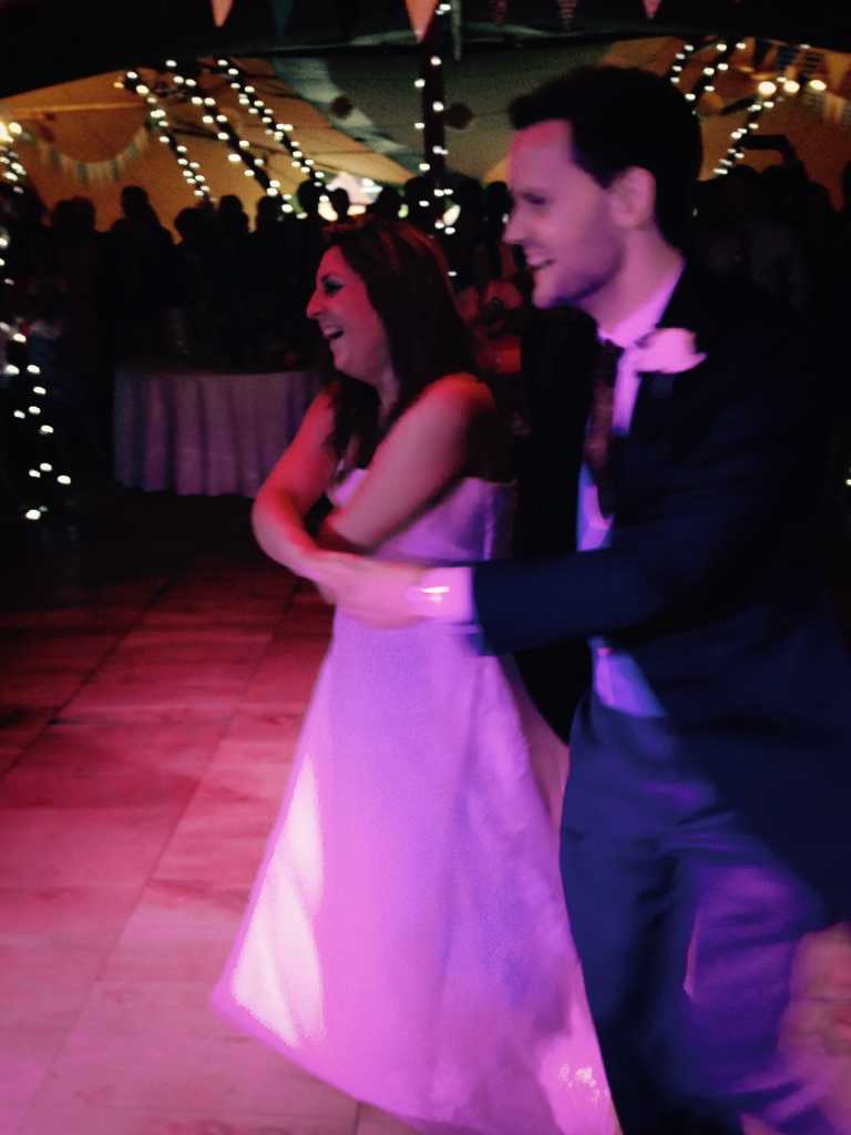 The bride & Groom had a dance routine to Ed Sheeran's 'Thinking Out Loud' played live by the band