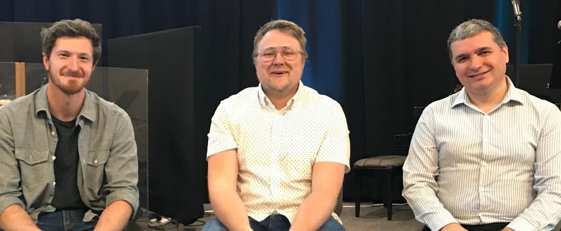 Tim Voth, Family Life Pastor — Rob Shauf, Discipling Pastor — Eugene Braila, Administrative Pastor
