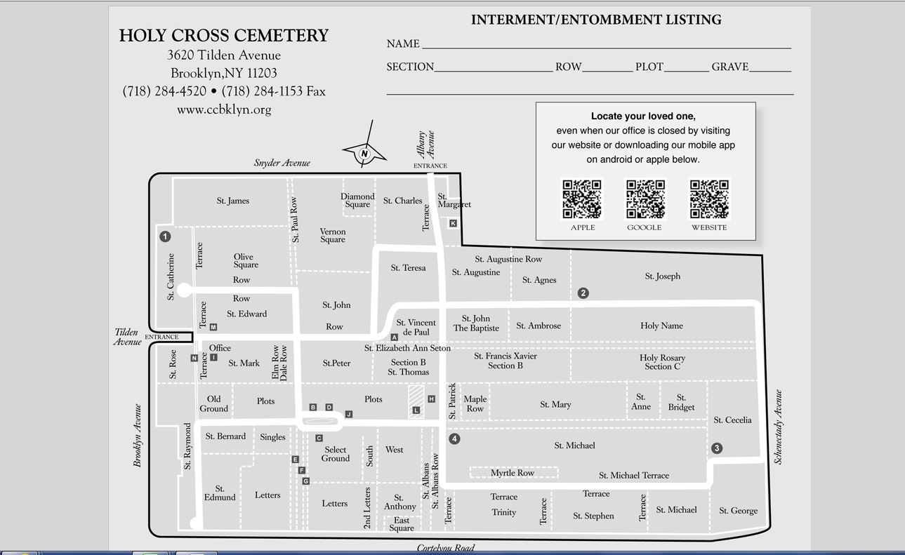 http://www.ccbklyn.org/our-cemeteries/holy-cross-cemetery/holy-cross-cemetery-map/