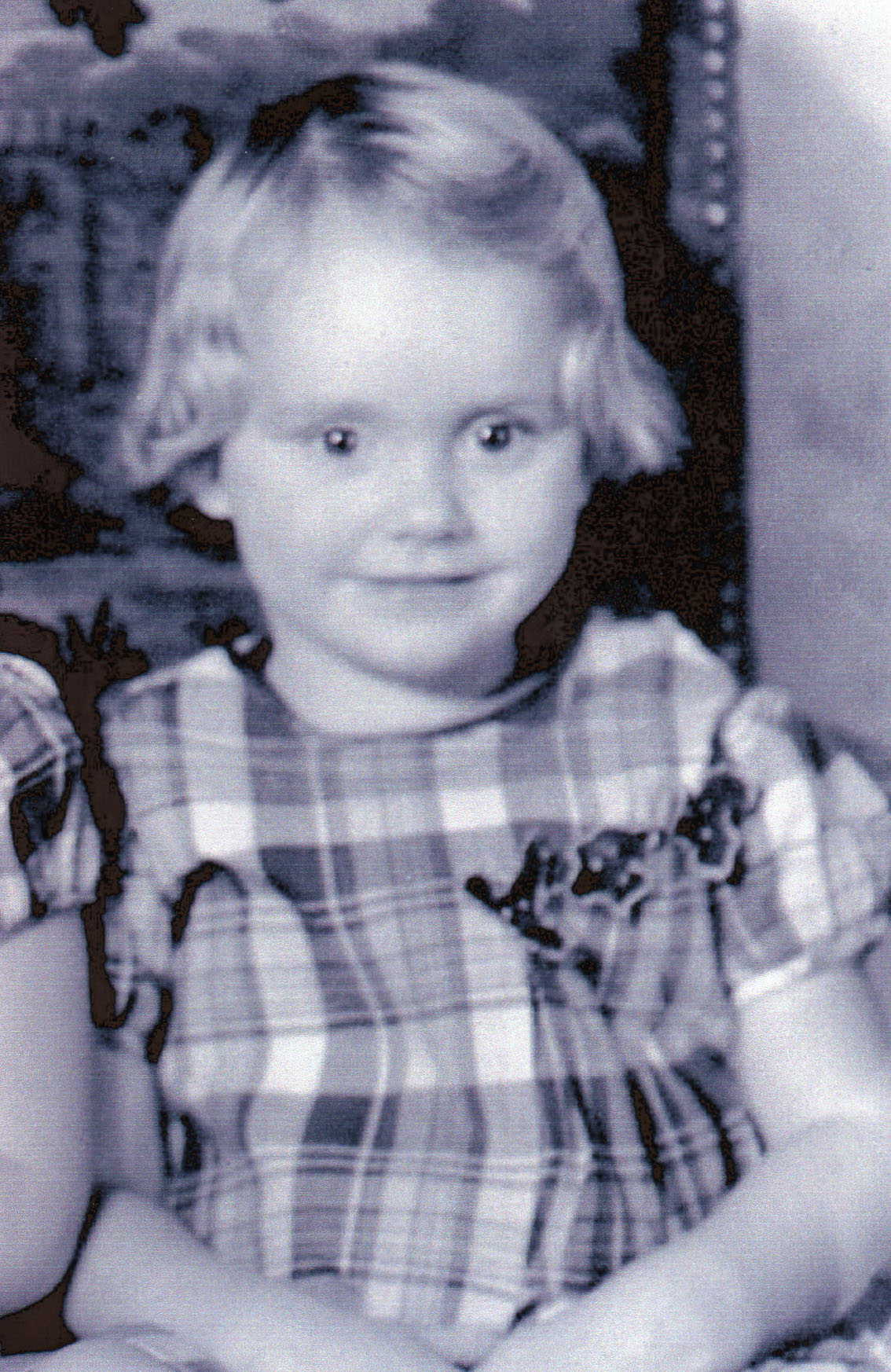 My grandmother as a little girl.