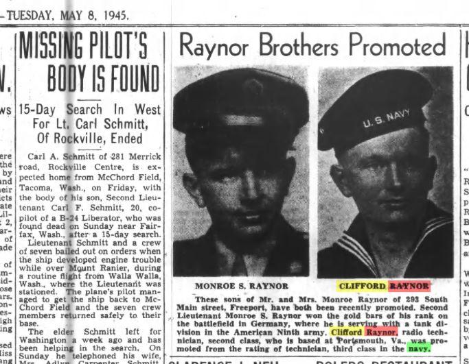 Raynor brothers 1945.JPG