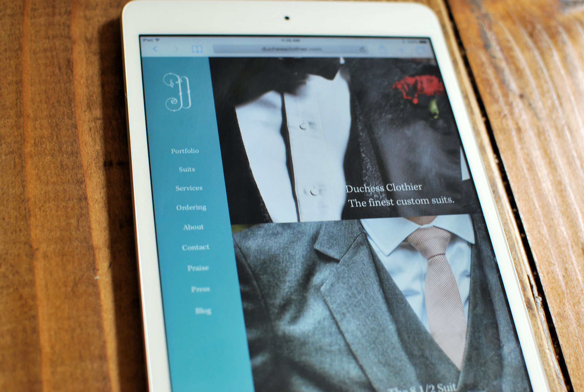 duchess-clothier-website
