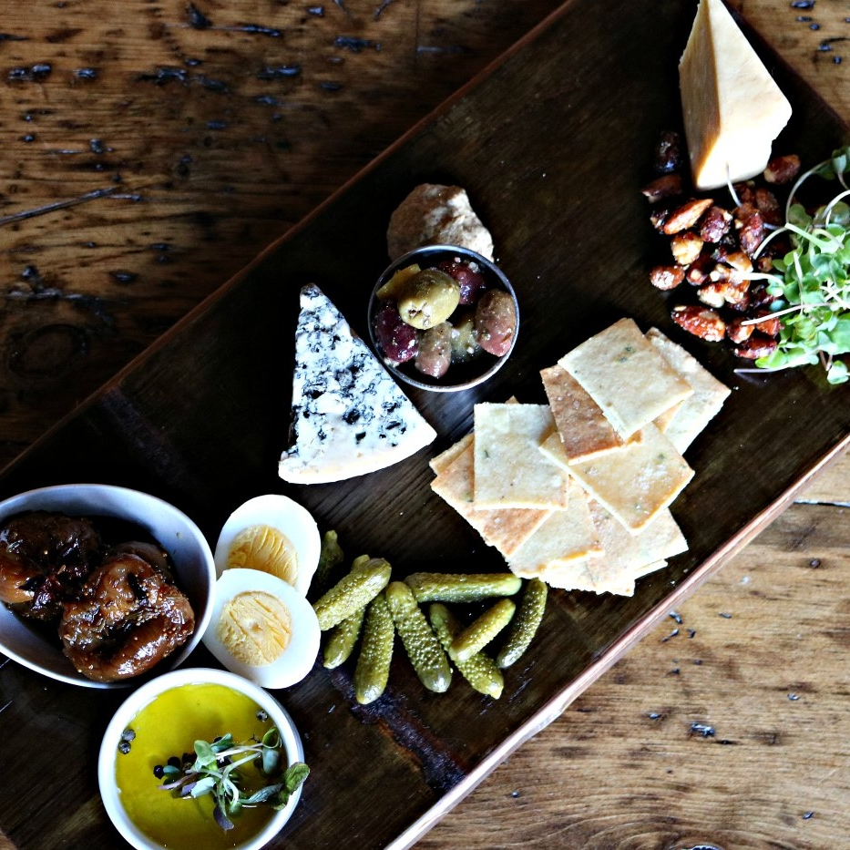 Photo of cheese board