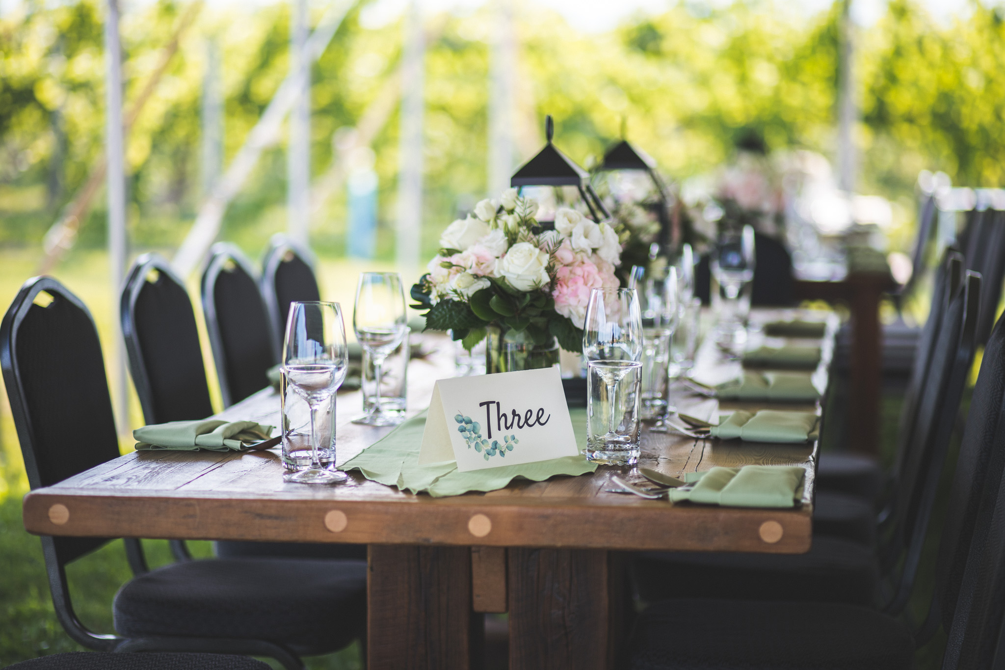 Private Event Table