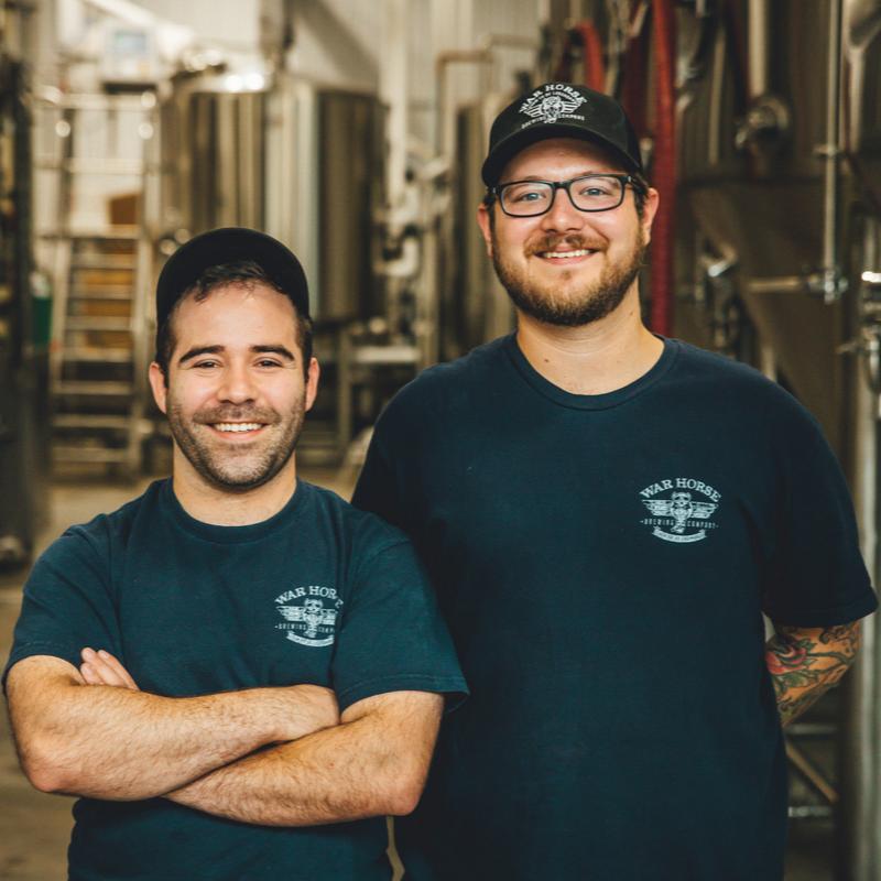 Brewers Pete Achilles and Garrett Meakin