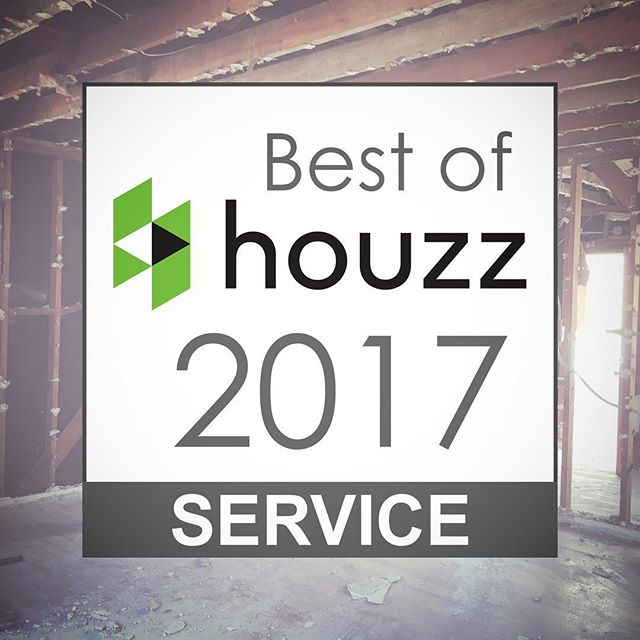 We are excited and honored to be one of @houzz's Best of 2017! We'll always work to uphold the high standards and even higher expectations that each of our clients has for their projects. Let us know how we can deliver for you in 2017!