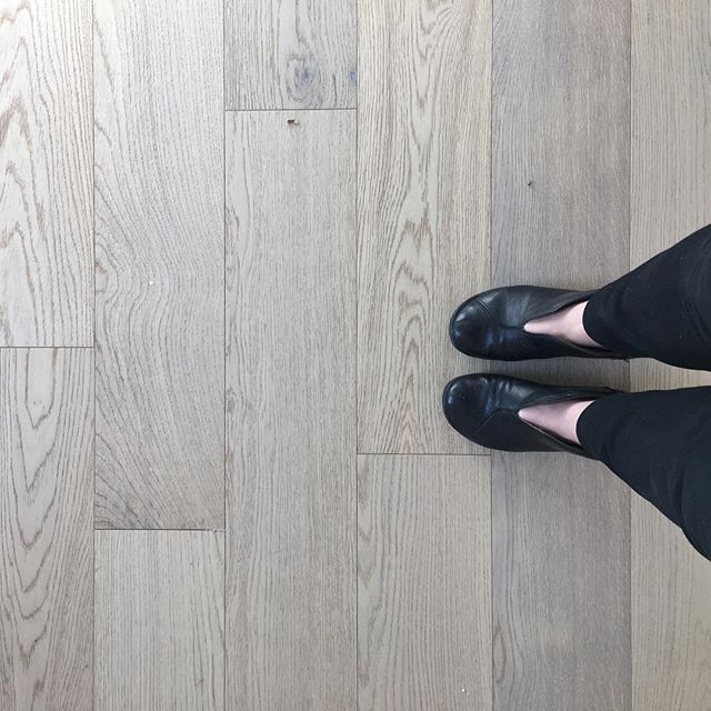 Super happy with these white oak floors at our Del Rey renovation