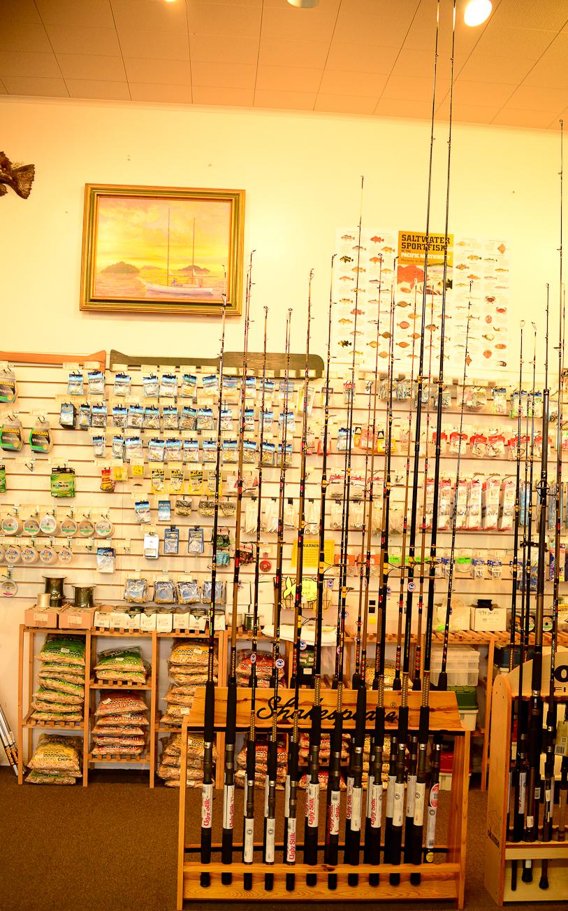 Fishing Rods Noyo Fishing Center