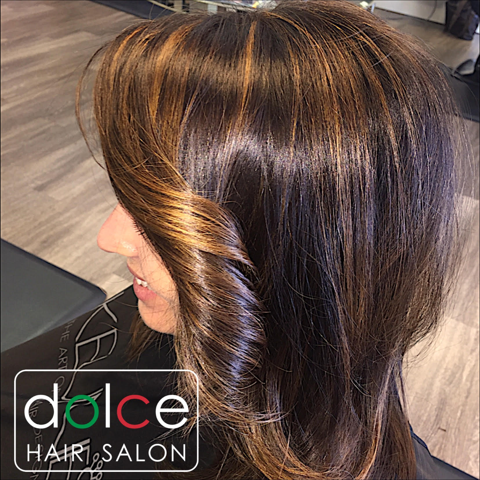 Dolce Hair Salon Pictures Soft Caramel Color