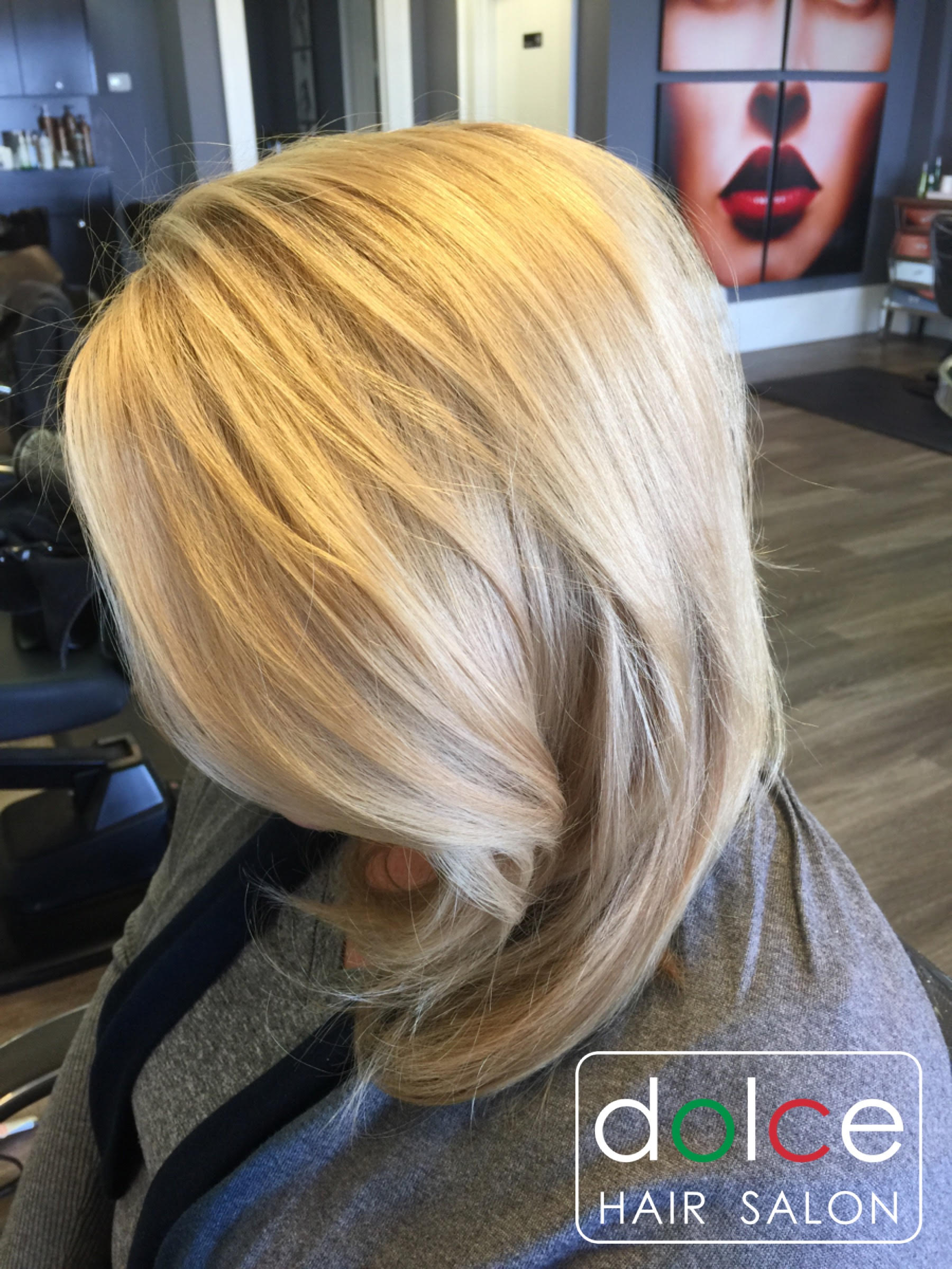 Dolce Hair Salon Pictures Beige Blonde Color