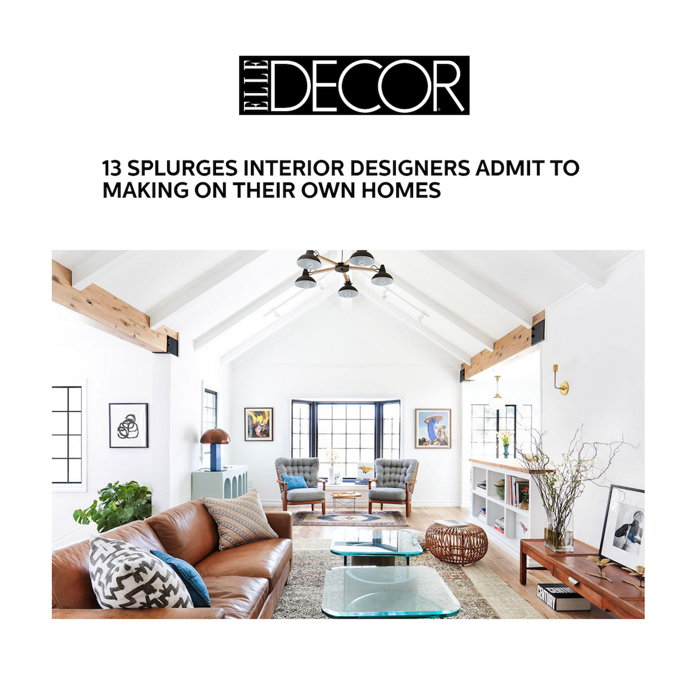 Elle Decor Interior Designers elle decor — press features — stefani stein